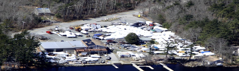 Captain Bub's Marine Aerial Image