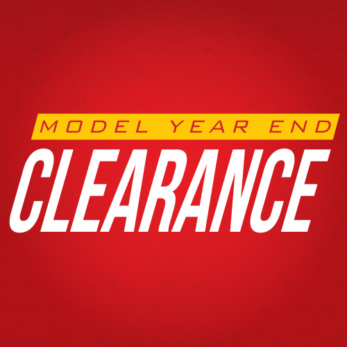 Model Year End Clearance Logo